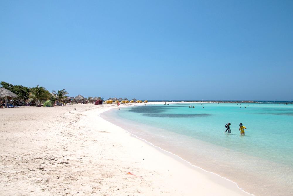 Traumstrände Karibik Aruba