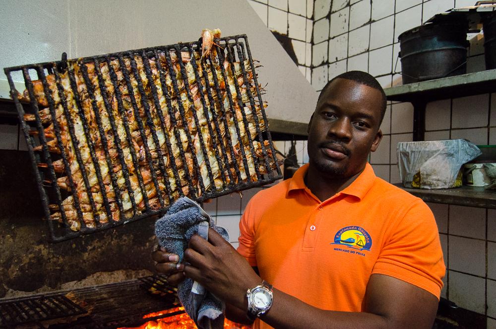 Maputo Fischmarkt