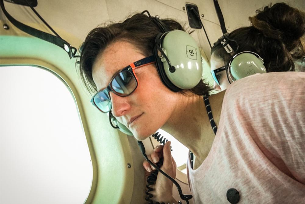 Im Wasserflugzeug