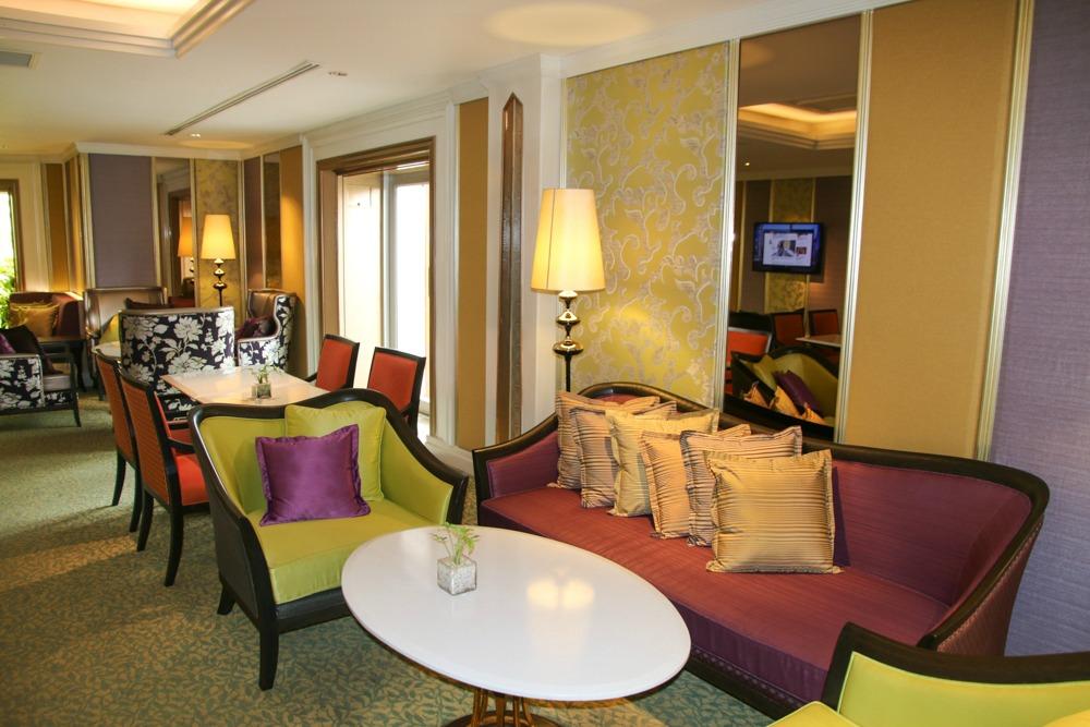 5 Sterne Hotel Dusit Thani Bangkok Salon_