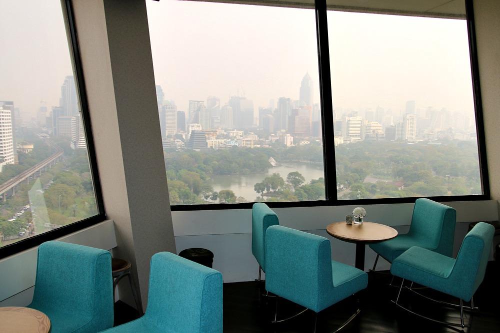 Aussicht Bangkok Thailand Dusit Thani