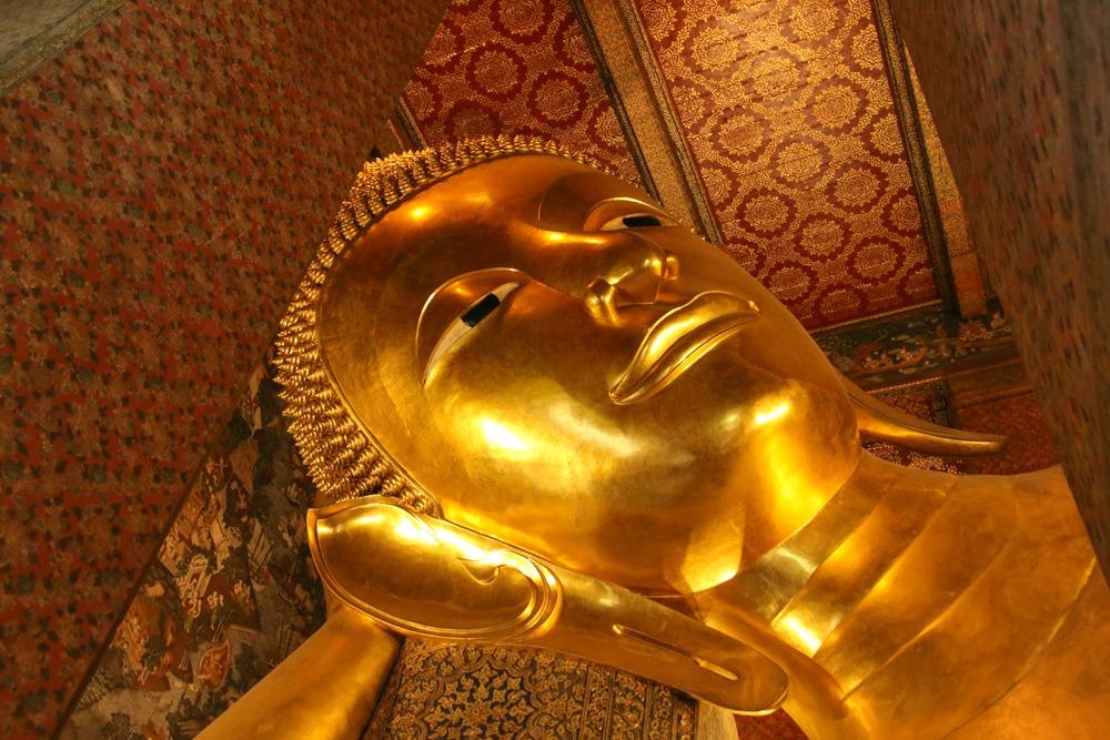 Bangkok Wat Pho Liegender Buddha Luxus Reiseblog