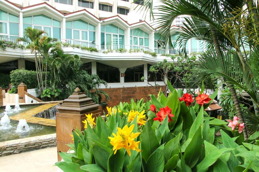 Dusit Thani Bangkok Thailand Garten