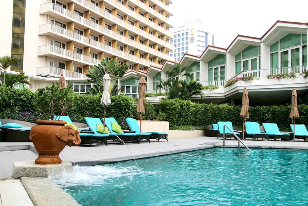 Dusit Thani Bangkok Thailand Pool