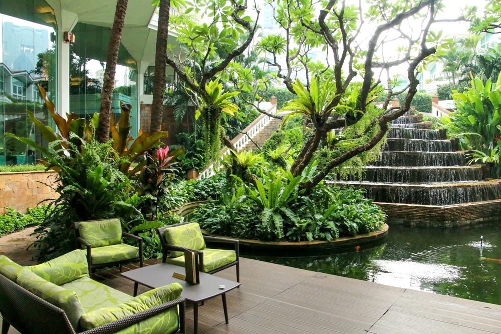 Hotel Dusit Thani Bangkok Garten