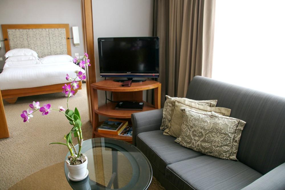 Hotel Dusit Thani Bangkok Wohnzimmer