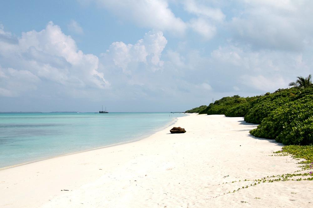 Malediven Hondaafushi Strand Reiseblog