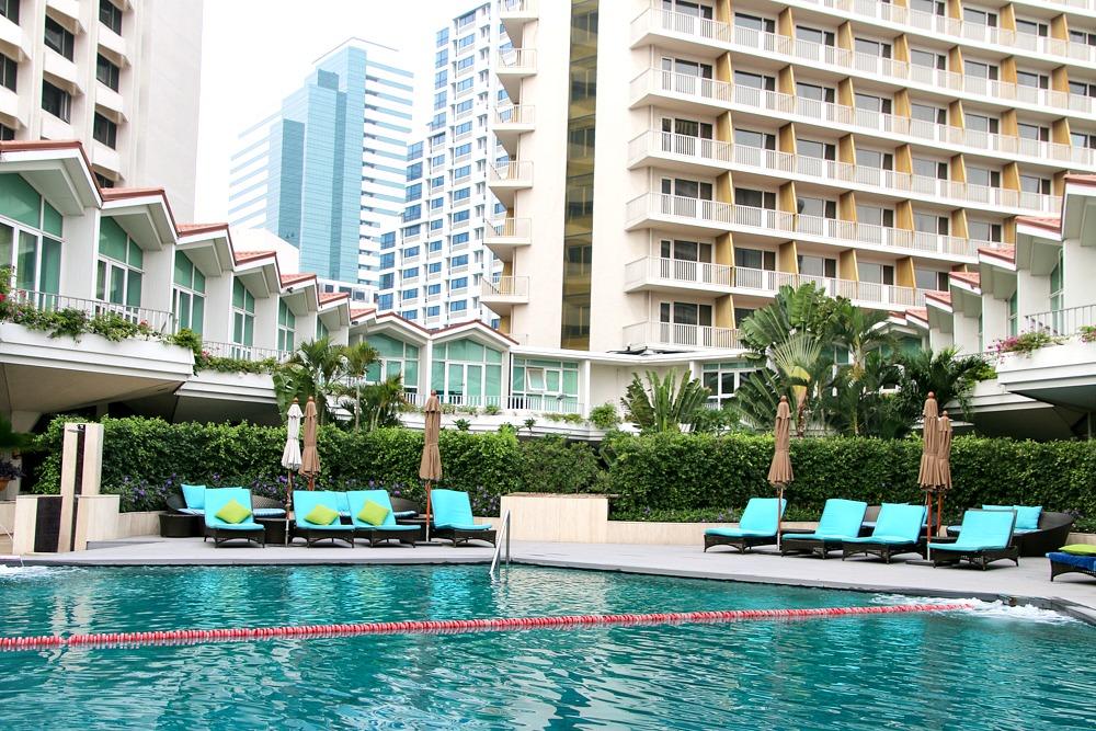 Pool Dusit Thani Bangkok Thailand