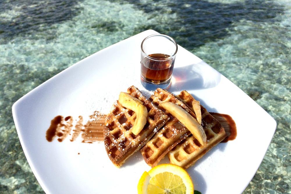 0 Malediven Frühstück Meer_