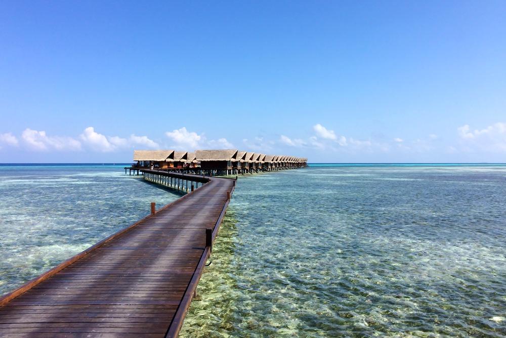 0 Malediven Hudhuranfushi Wasservillen Reiseblog