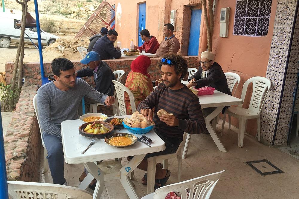 1. Tajine Restaurant Tafoukt Taghazout Marokko