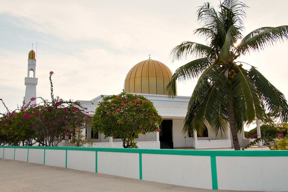 2 Malediven Einheimischeninsel Utheemu Moschee