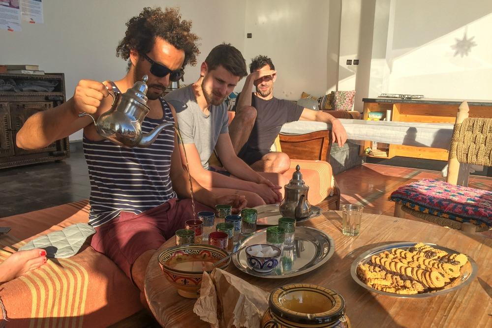 3. Taghazout Marokko Tee