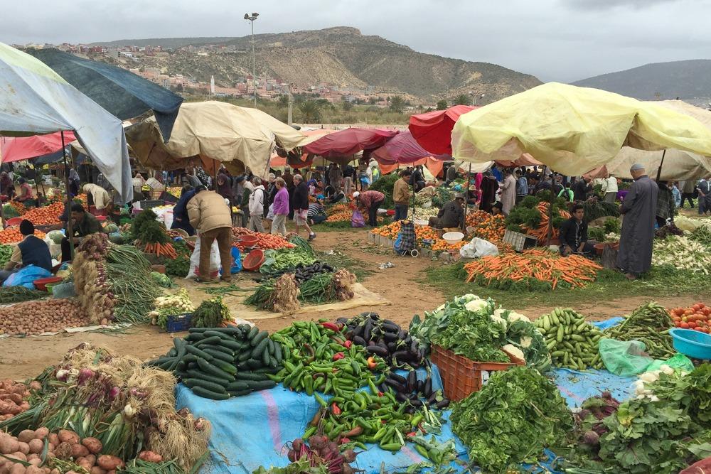 5. Taghazout Marokko Markt