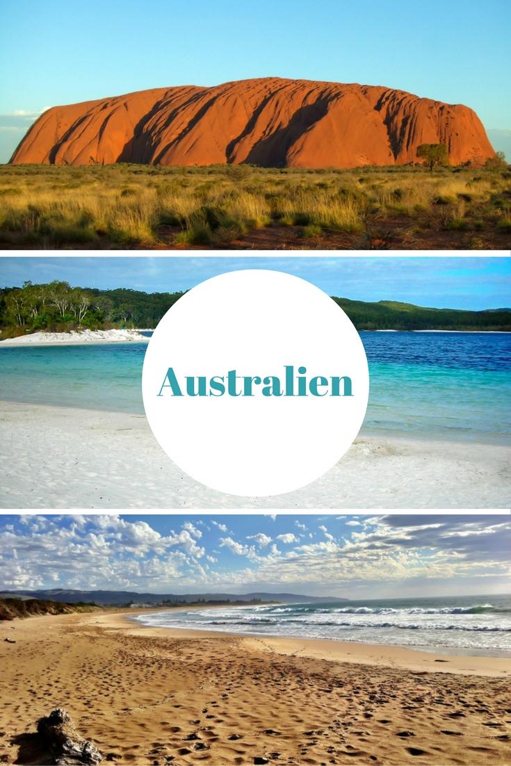 Ayers Rock, das Great Barrier Reef, Strände, Städte wie Sydney und Melbourne, Kängurus, Koalas & Aborigines - Australien ist traumhaft schön. Vor- und Nachteile dieses Reiseziels findet ihr im Reiseblog. #Australien #Fernreise