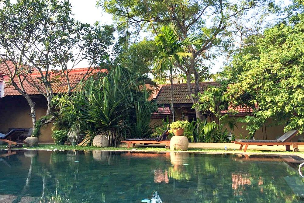 Jetwing Ayurveda Pavilions Sri Lanka Negombo Pool