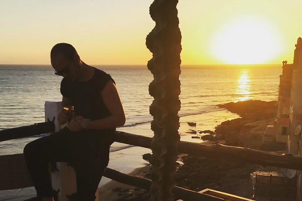 Marokko Sonnenuntergang