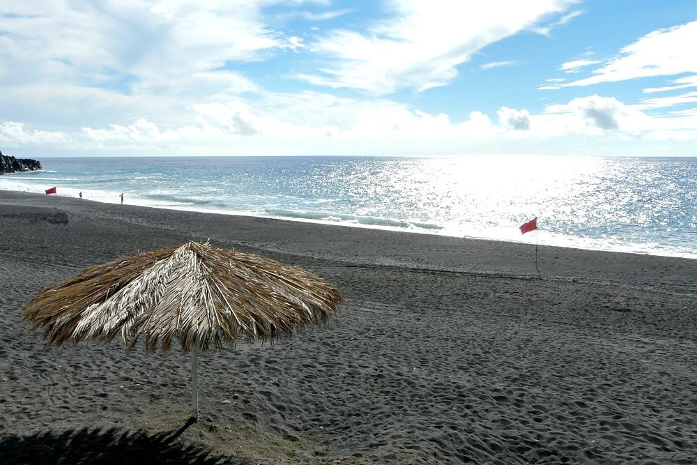 Spanien Kanaren La Palma Strand Beach
