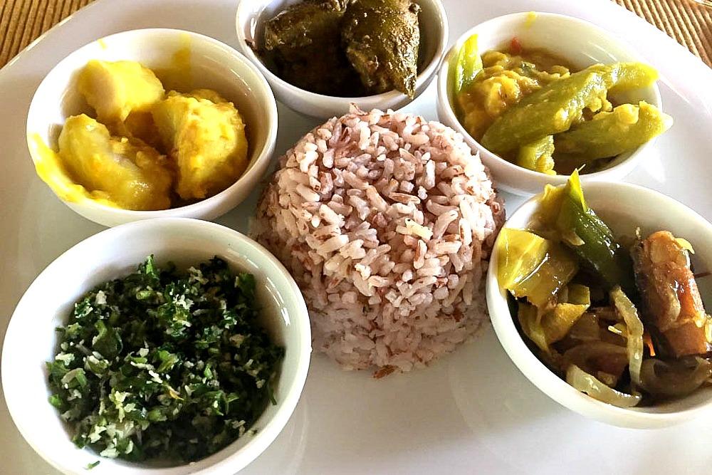 Sri Lanka Jetwing Ayurveda Pavilions Mittagessen