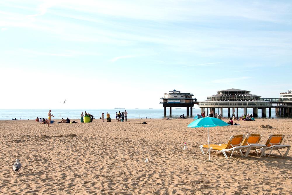 Strand Beach Den Haag Scheveningen Holland Reiseblog
