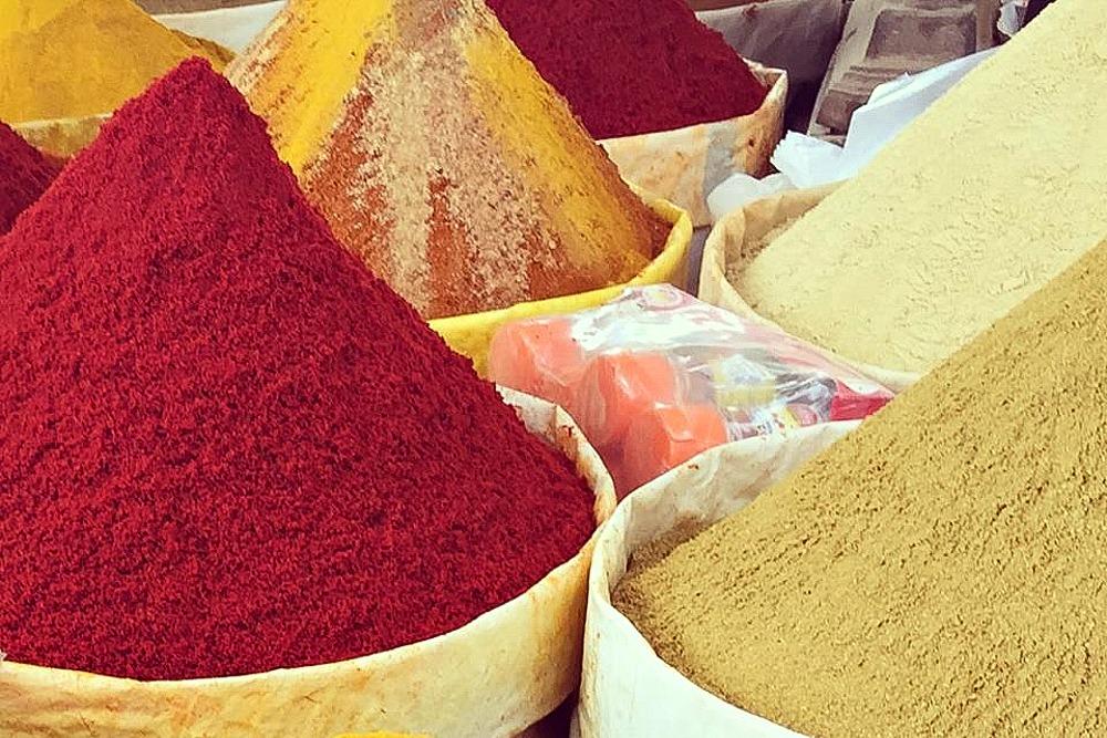 Taghazout Marokko Markt