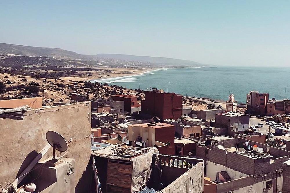 Taghazout Marokko Meer Atlantik