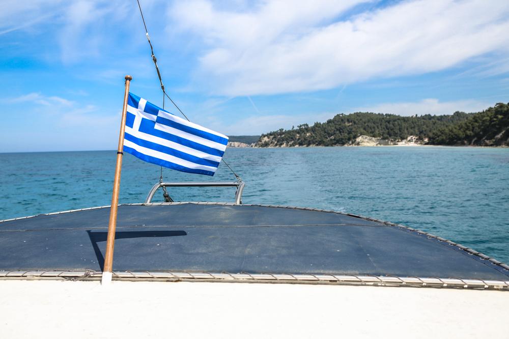 1 Chalkidiki Griechenland Ikos Resort Bootsfahrt