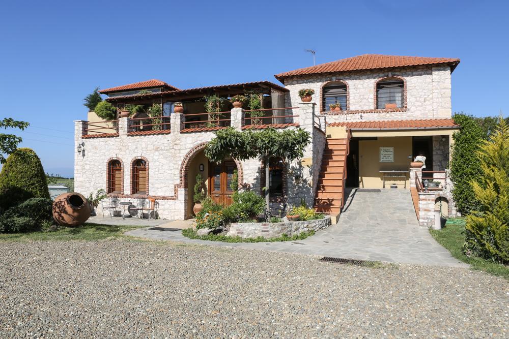 16 Griechenland Chalkidiki Weinanbau