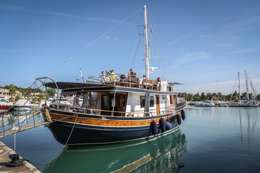 27 Griechenland Chalkidiki Bootstour