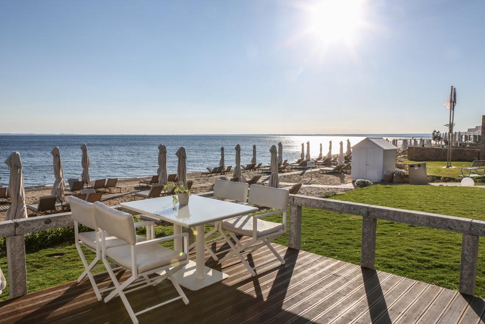 3 Chalkidiki Griechenland Ikos Resort Olivia Restaurant Ouzo
