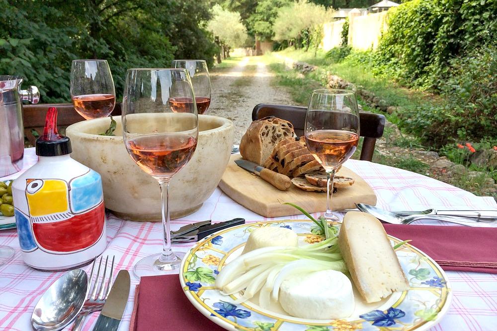 4 Frankreich Südfrankreich Provence Wein Weingut Rose