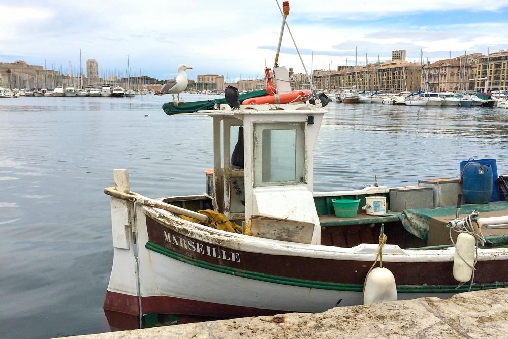 6 Marseille Frankreich Südfrankreich Boot Fischer