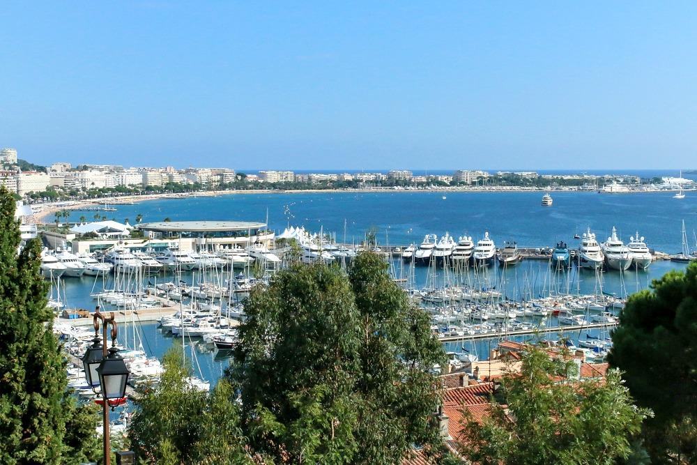 9 Cannes Hafen Ausblick