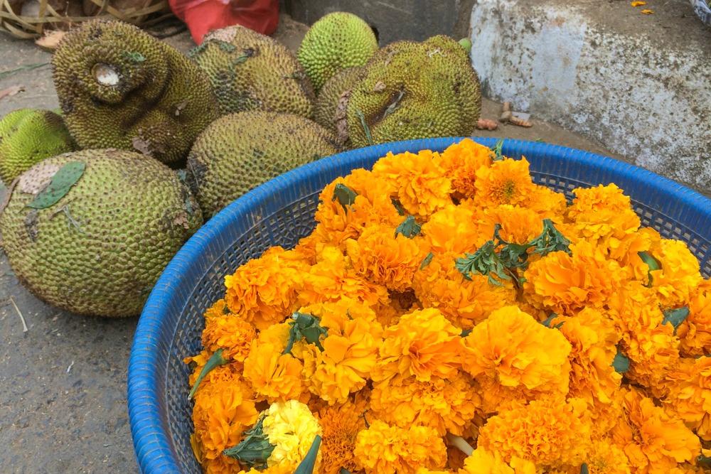 Bali Markt Obst Blumen