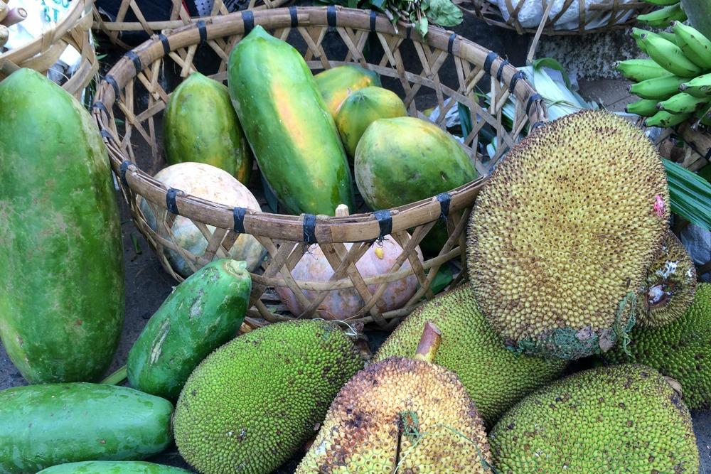 Bali Markt Obst Früchte