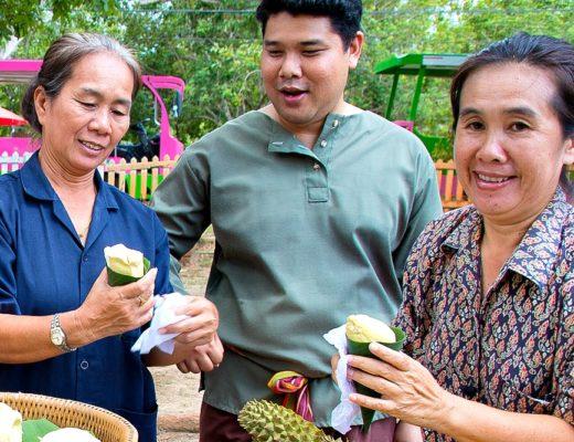 Durian in Thailand
