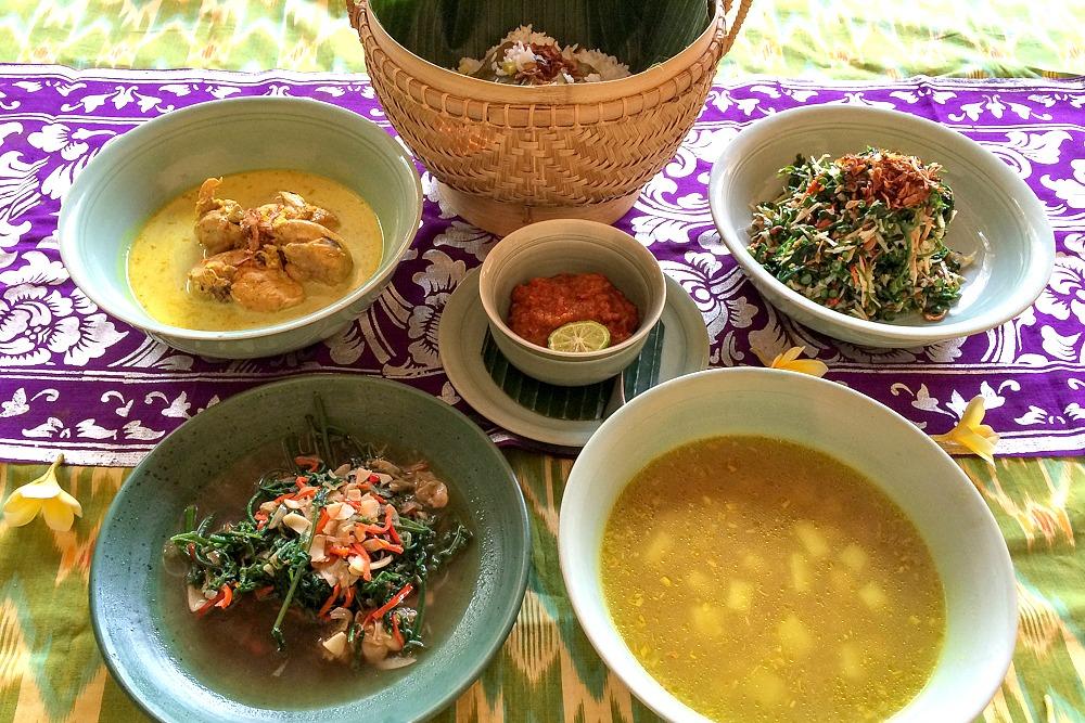 Essen Ubud Bali Indonesien