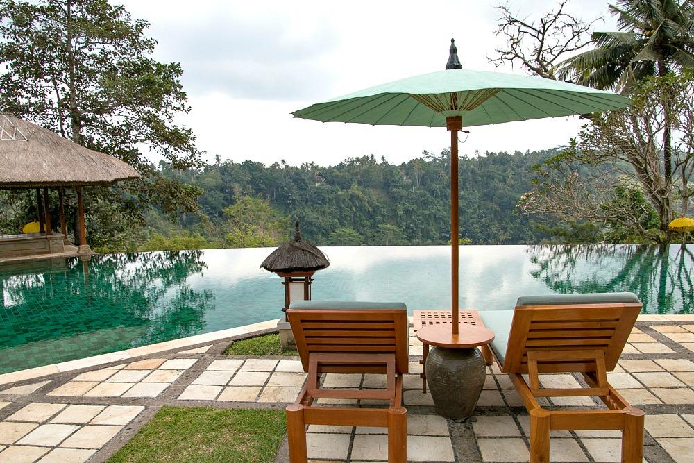 Infinity Pool Amandari Resort Ubud Bali