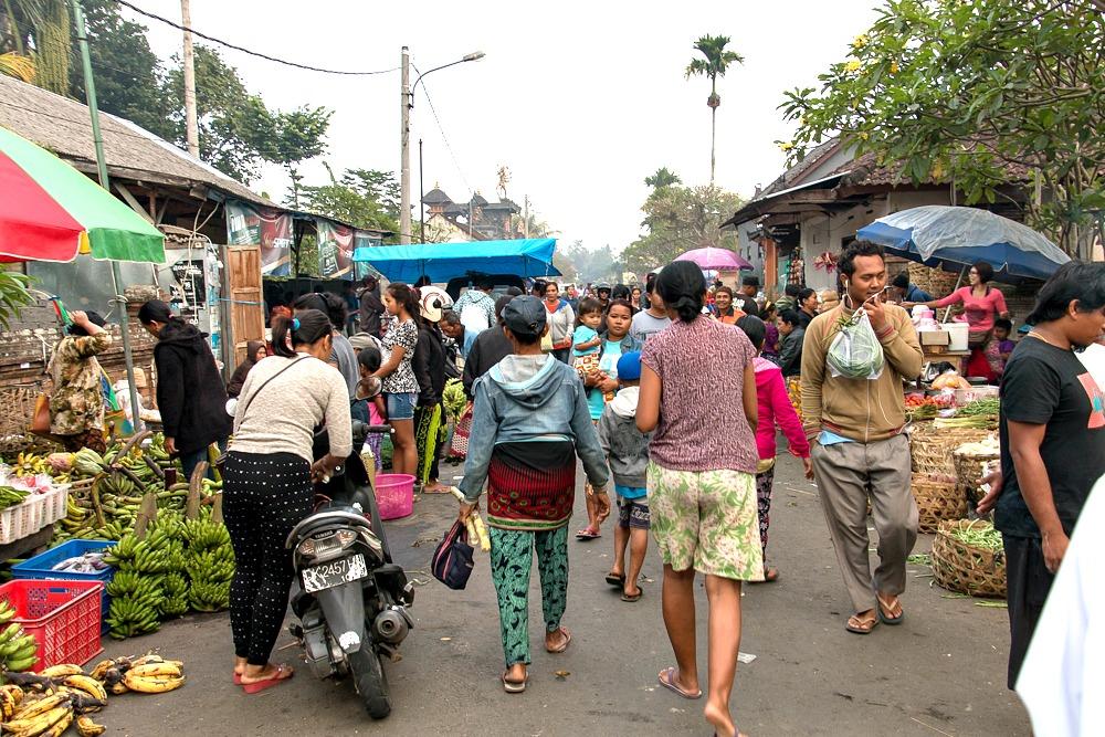 Markt Bali Indonesien