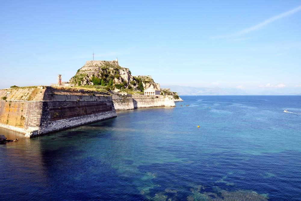 1_Alte Festung Korfu Stadt