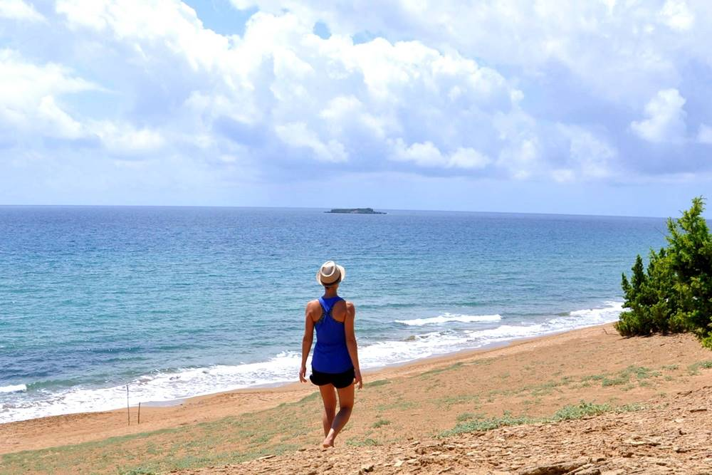 24 Strand Issos Beach Korfu Griechenland Reiseblog