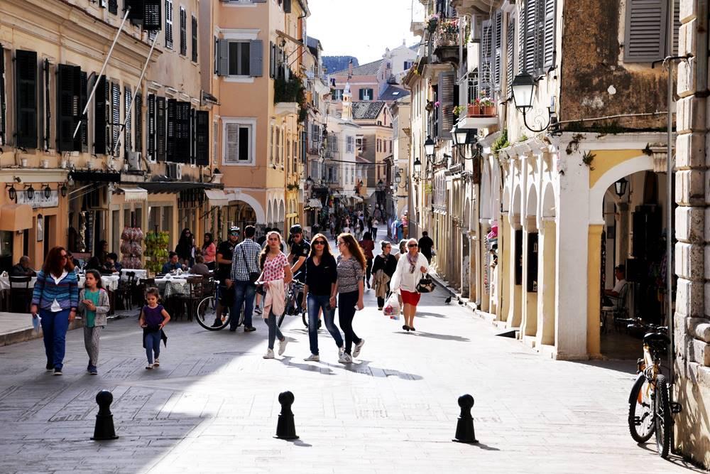 2_Korfu Altstadt Gasse