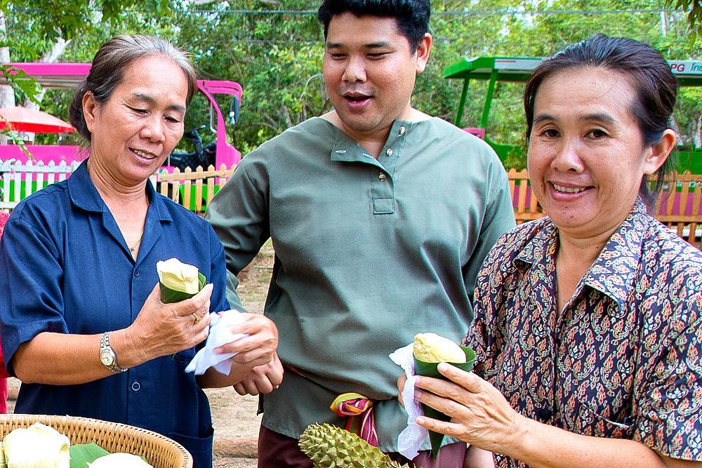 7 Durian Thailänder Thailand