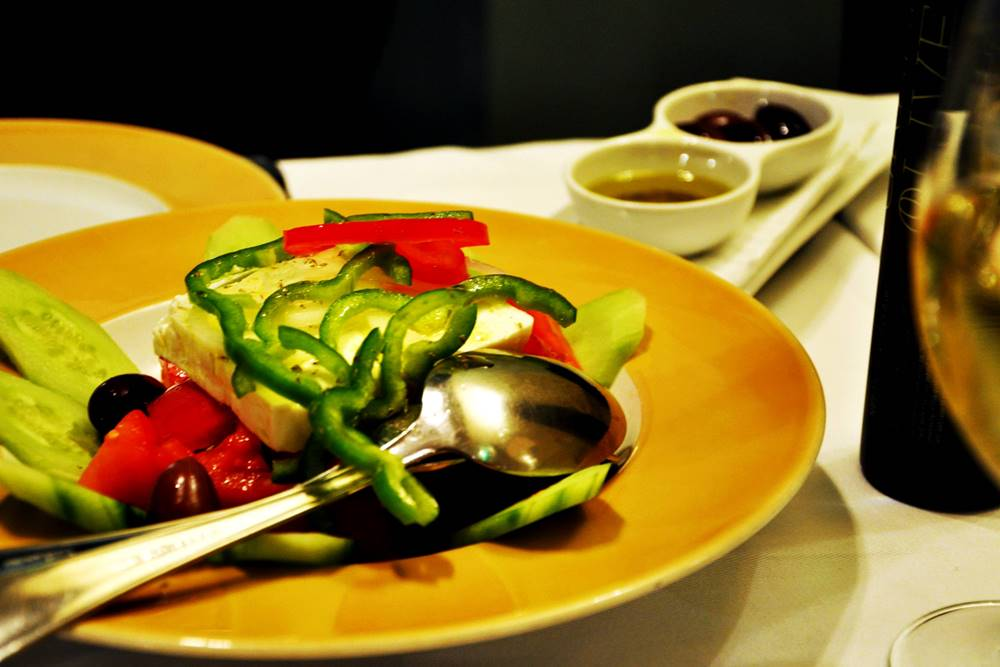 7_Dinner Korfu Griechischer Salat
