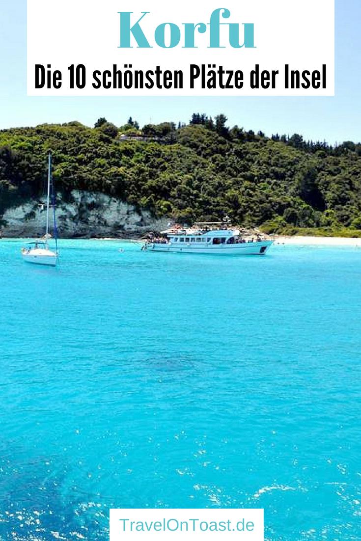 Korfu, Griechenland: Die 10 besten Sehenswürdigkeiten und Highlights auf der Insel - etwa Stadt, die schönsten Strände, Buchten und Restaurants. #Korfu #Griechenland #Insel #Urlaub #Reise #Reisen