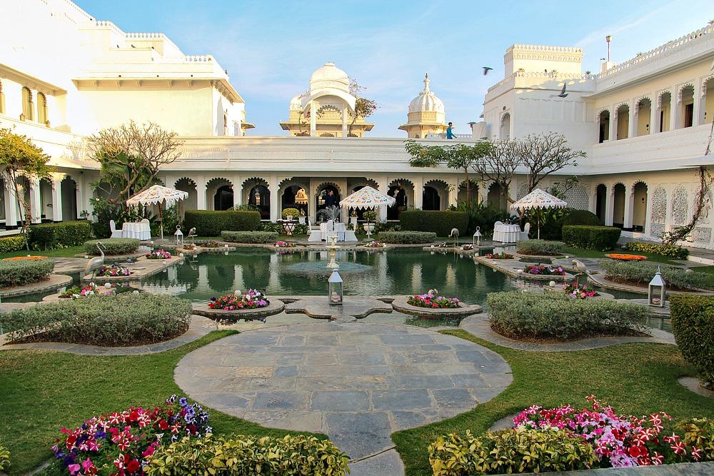 Taj Lake Palace Hotel Udaipur Indien Reiseblog