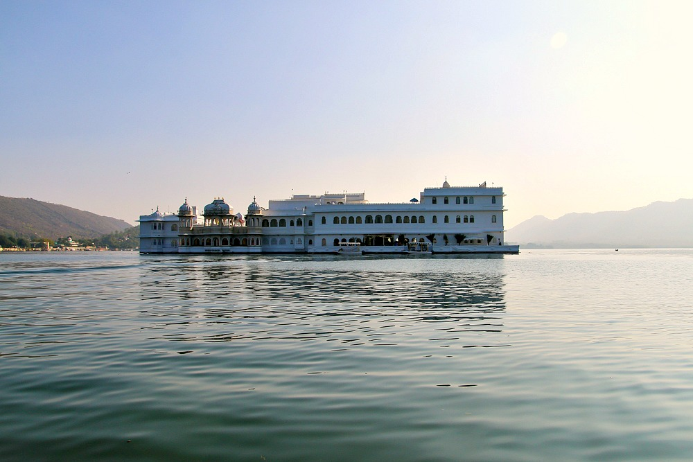 Taj Lake Palace Hotel Udaipur Rajasthan India