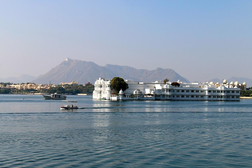 Taj Lake Palace Hotel Udaipur Rajasthan Indien