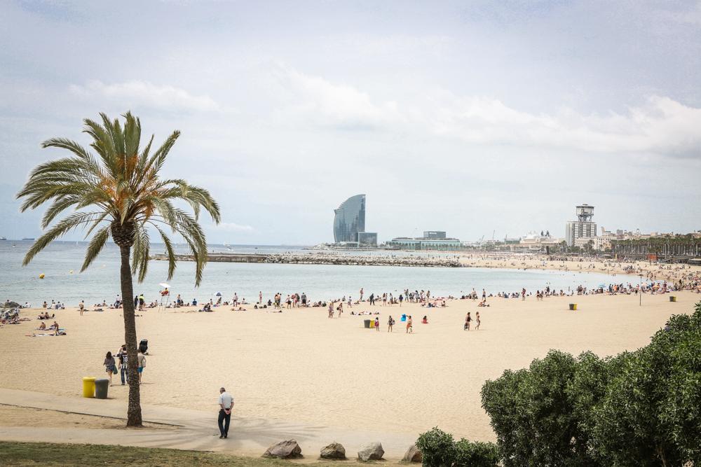 18 Norwegian Epic Kreuzfahrt Barcelona Strand Reiseblog