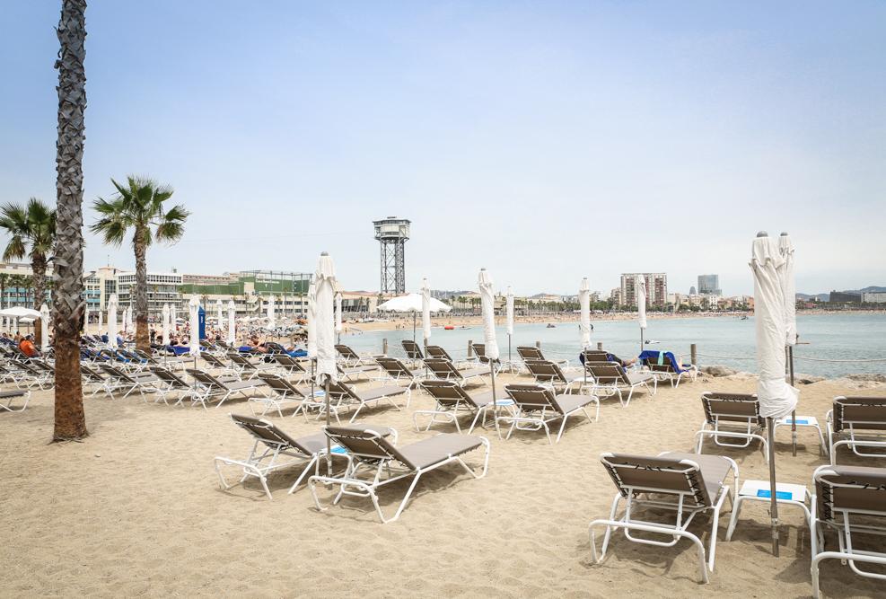 19 Kreuzfahrt Barcelona Strand Landgang Reiseblogger